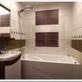 Оформление малогабаритной ванной