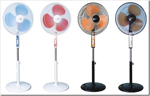 Различные виды вентиляторов