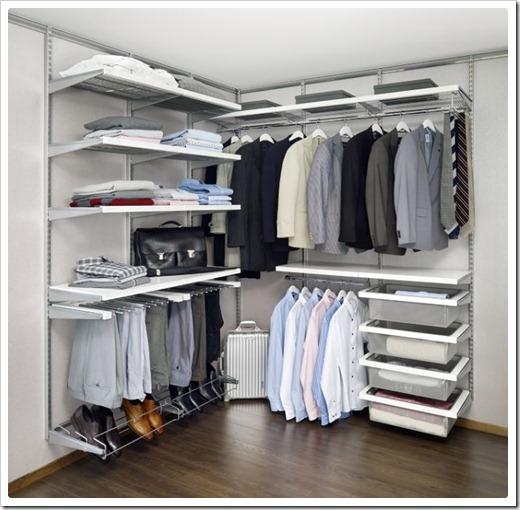 Материалы для изготовления гардеробных