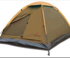 Какой должна быть первая палатка?