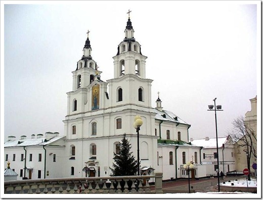 Улица Немига и Кафедральный собор