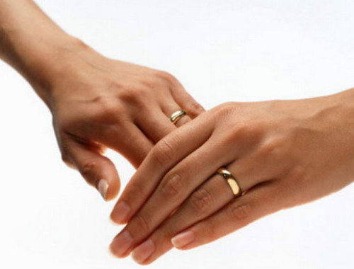 где носить обручальное кольцо