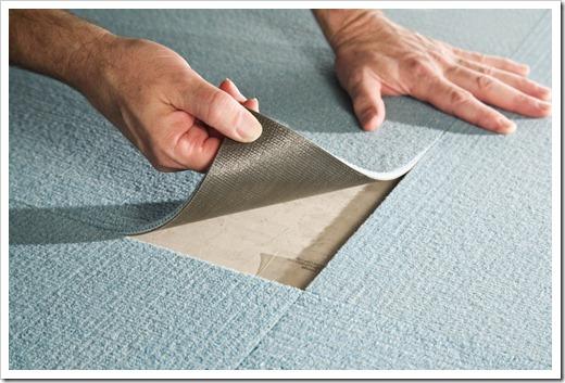 Практичность использования ковровой плитки