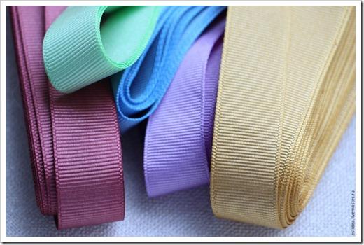 Применение репсовой ленты в рукоделии