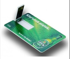 Что собой представляет флешка-визитка?
