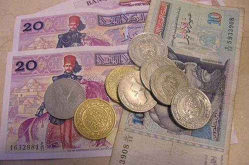 динары Туниса