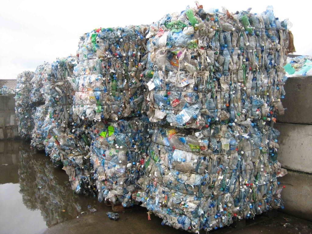 Как переработать пластик