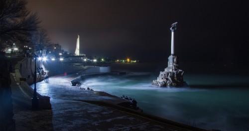 Севастополь зимой
