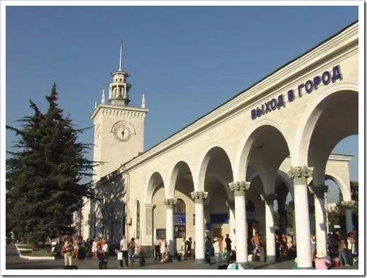 Ночной Симферополь – центр современного города