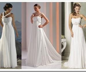 Преимущества свадебного платья в греческом стиле