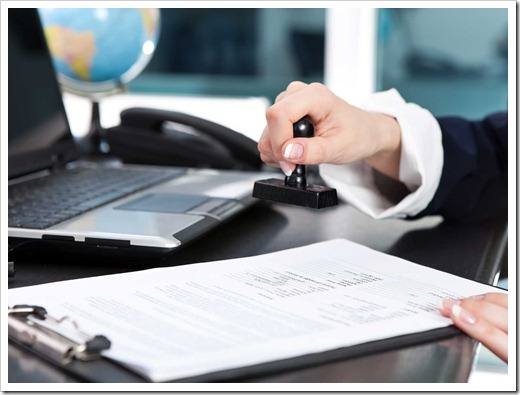 Как выполняется апостилирование документов?