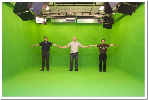 Адаптированные хромакеи для работы на съёмочной площадке