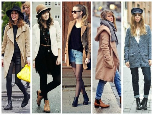 С чем носить ботинки челси
