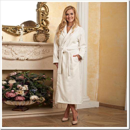 Лучший материал для женского халата
