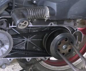 Как снять вариатор на скутере