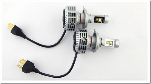 Характеристика для автомобильных светодиодных ламп Н4