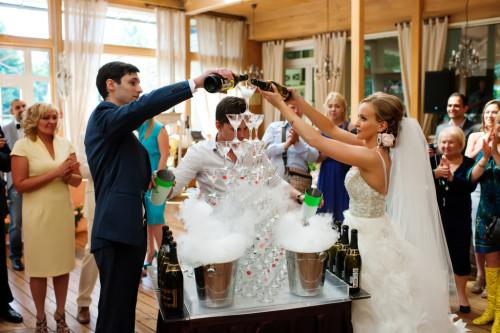Как организовать свадебный банкет
