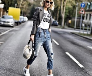 Что одеть с белыми кроссовками девушке