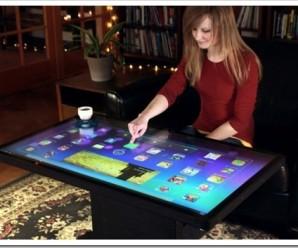 В чем преимущества сенсорных столов?