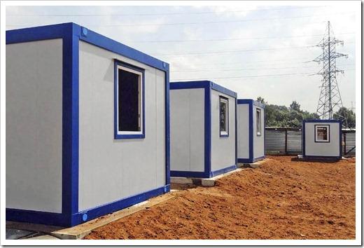 Санитарные блок-контейнеры и варианты для специального назначения