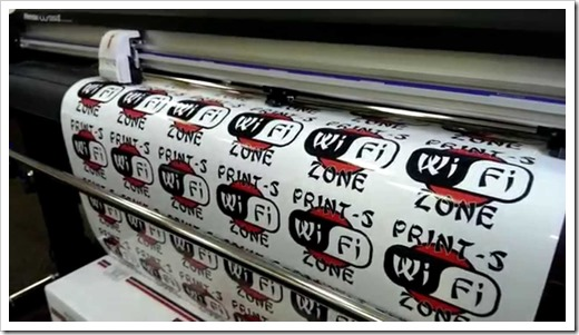 Какую технологию печати выбрать для наклеек?