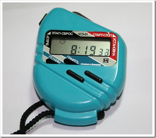 Электронные модели секундомеров с лазерным лучом