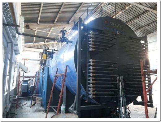 Паровые котлы используются не только для отопления и производствагорячей воды