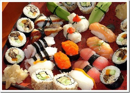 Традиционность суши не равна их популярности