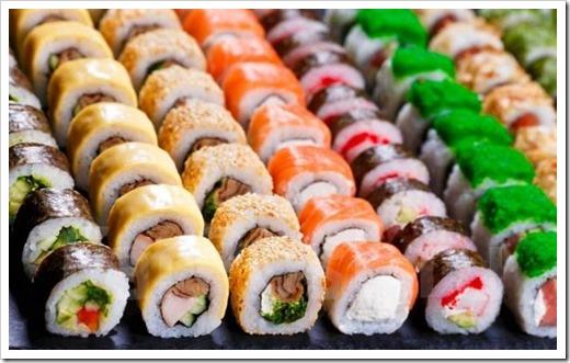 Нигири-суши и хосомаки