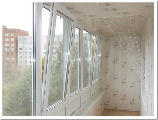 Остекление балконов Rehau
