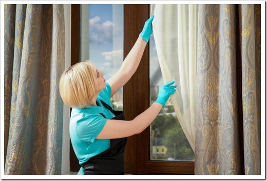 Чистые шторы недорого и быстро