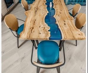 Чем так привлекательны столы из слэбов?