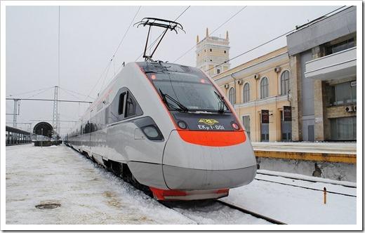 Поезд и Интерсити
