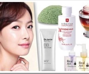 Виды корейской косметики