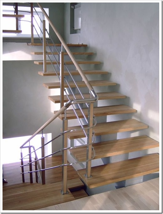 Принципы монтажа лестниц на косоурах
